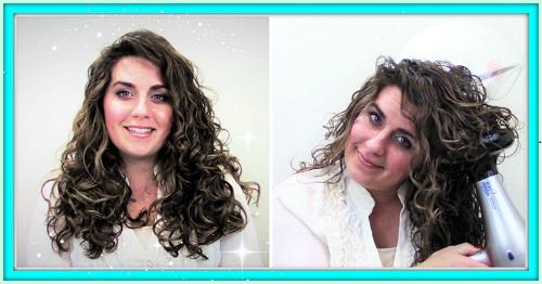 انواع براشینگ مو برای موهای فر دار