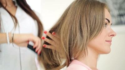 براشینگ موهای کوتاه