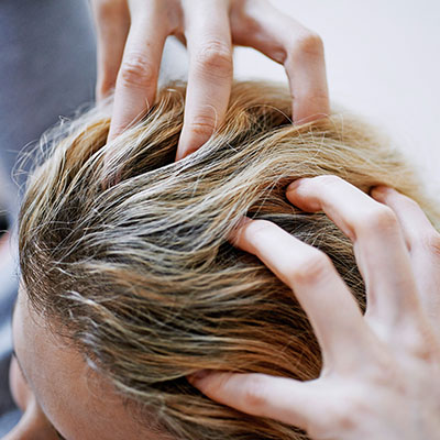 تشخیص موی چرب بعد از استحمام