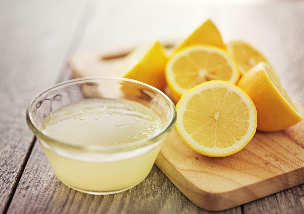 درمان شوره سر با لیمو
