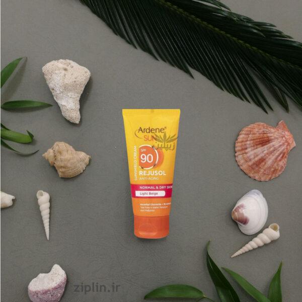 کرم ضد آفتاب و ضد چروک رنگی آردن