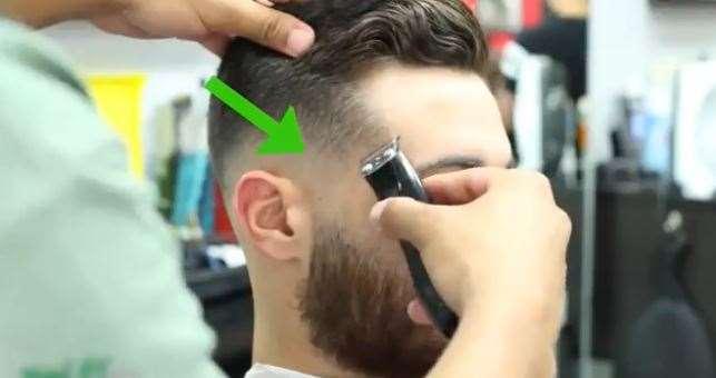 تصویر 18کوتاه کردن موی مردان