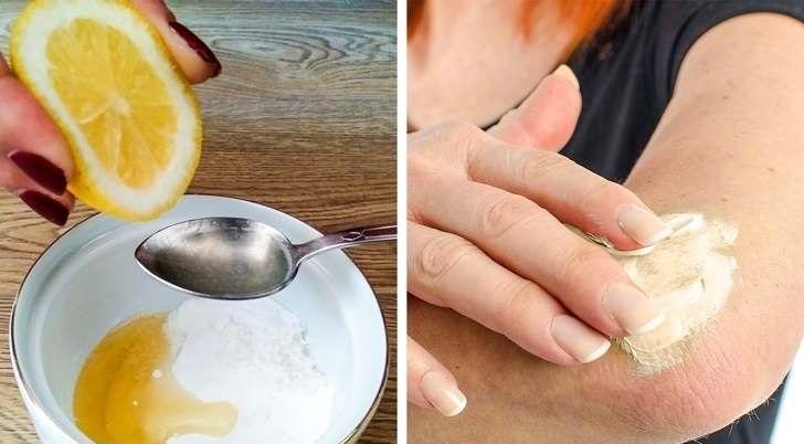 سفید کردن پوست با ماسک عسل و لیمو