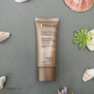 کرم ضد آفتاب جوان کننده بی رنگ (Prime)
