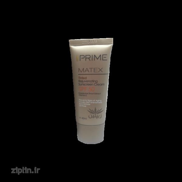 کرم ضد آفتاب جوان کننده رنگی (Prime)