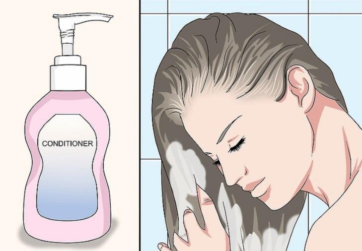 ماسک را بشویید و موهایتان را حالت دهید