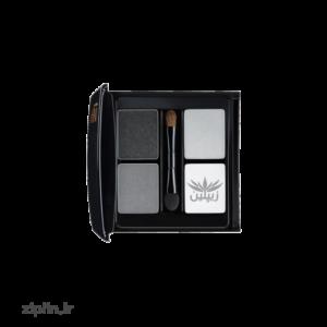 سایه چشم 4 رنگ مدل Black-Amber این لی (INLAY)