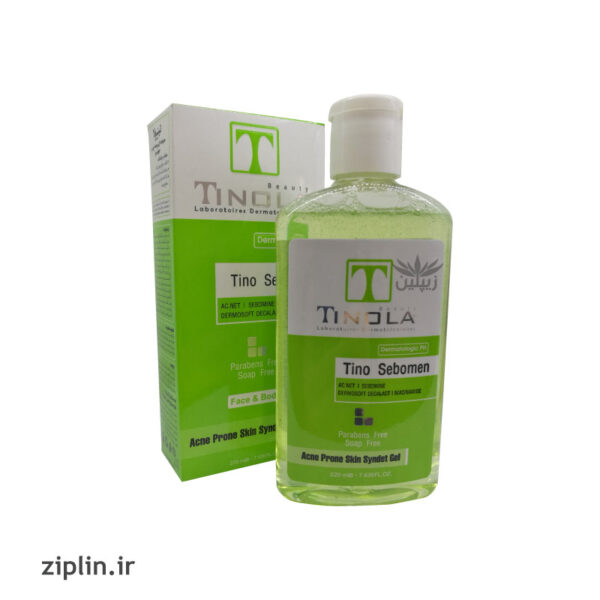 ژل شستشوی صورت مناسب پوست چرب تینولا (Tinola)