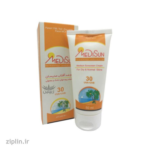 ضد آفتاب SPF30 بی رنگ مدیسان