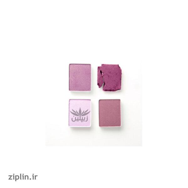 سایه چشم 4 رنگ مدل Lavender-Paradise این لی (INLAY)