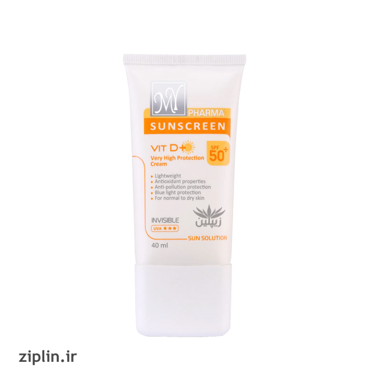 کرم ضد آفتاب SPF50 مناسب انواع پوست مای فارما (My)