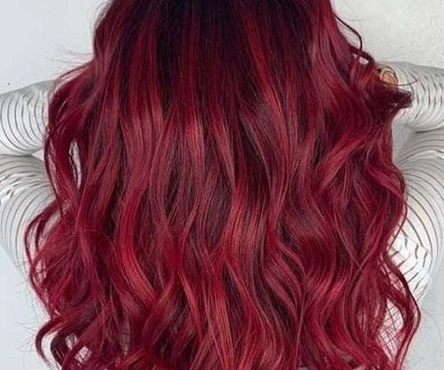 رنگ موی شرابی(رنگ مو طبیعی)