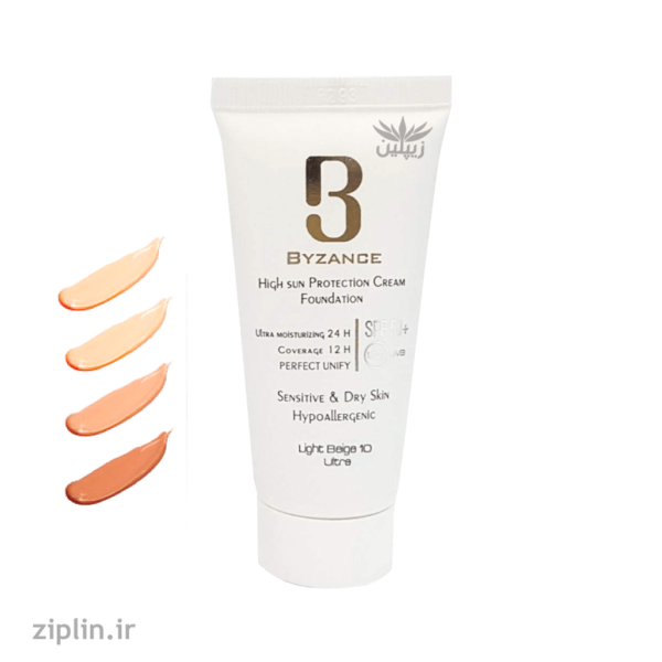 کرم-ضد-آفتاب-بیزانس-SPF50-مناسب-پوست-خشک-