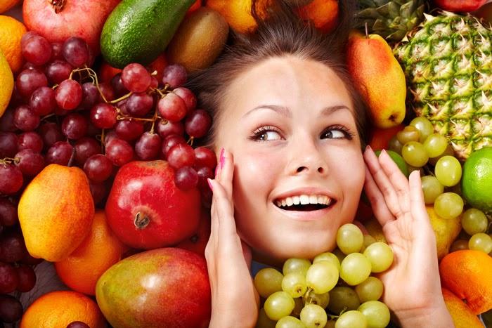 زیبایی با مصرف میوه ها