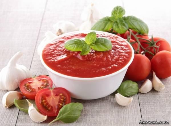گوجه فرنگی چگونه به درمان تعریق کمک می کند؟