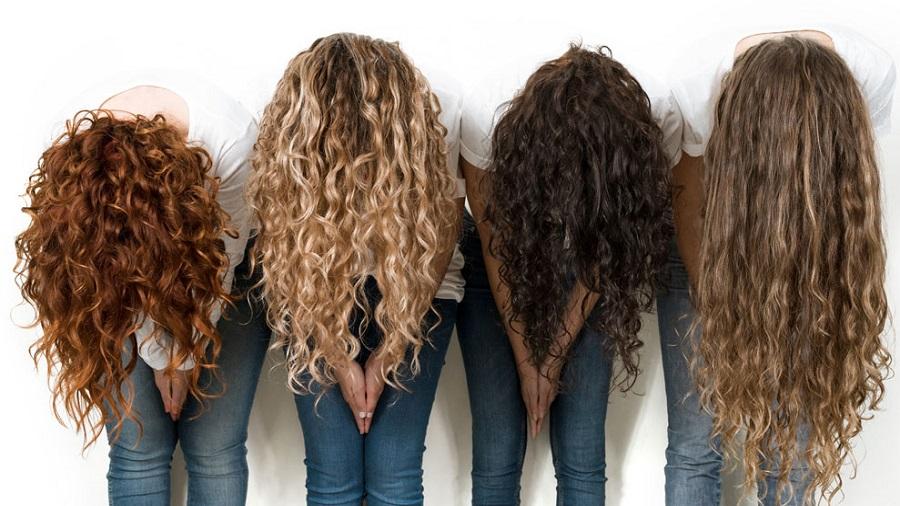 آرایش مدل مو های فر
