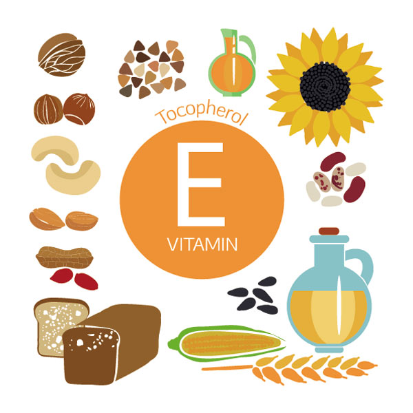 ویتامین E برای درمان لکه های قهوه ای روی دست