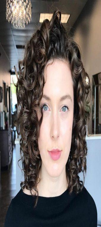 ارایش موهای فر فنری
