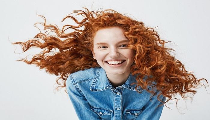 ششمین روش آرایش مو های فر