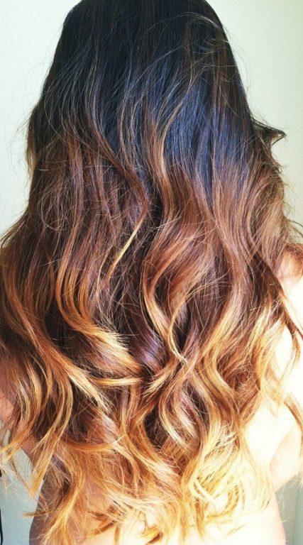 آرایش موهای بلند فر