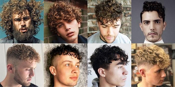 انواع مدل موی فر مردانه