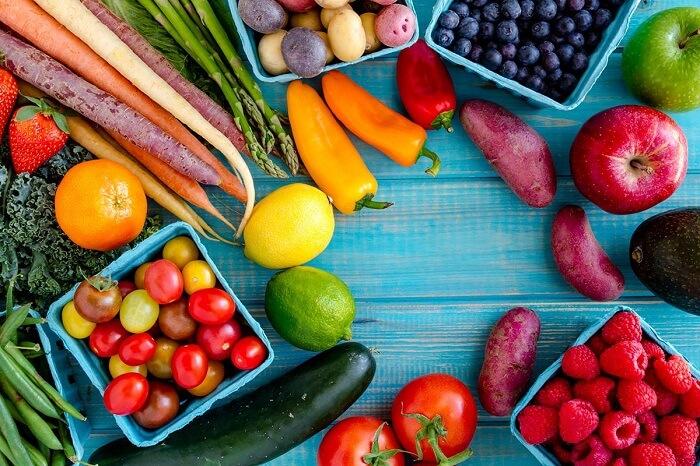 مراقبت پوست در تابستان با میوه ها و سبزی جات