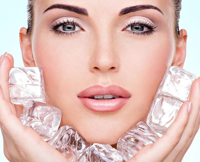 یخ درمانی برای پوست