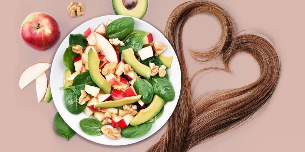 رژیم غذایی مناسب برای ترمیم موهای آسیب دیده