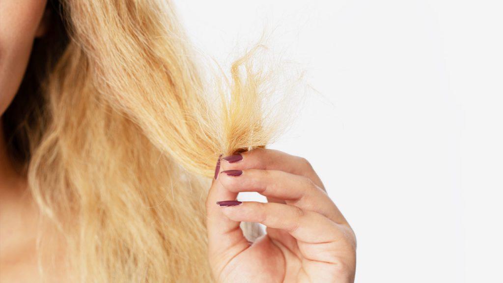 موی آسیب دیده از رنگ
