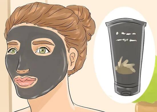 پاکسازی منافذ بینی با ماسک زغال