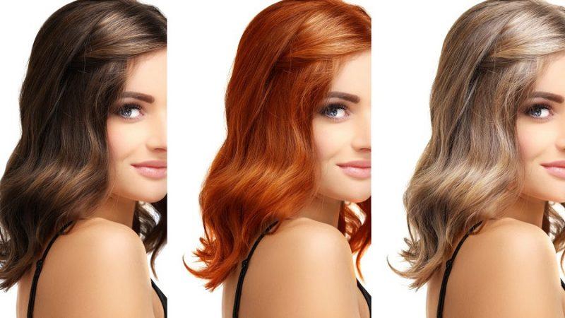 رنگ مو مناسب رنگ پوست