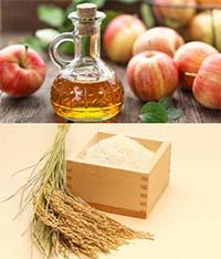 درمان خشکی پوست سر با سرکه سیب و سبوس گندم