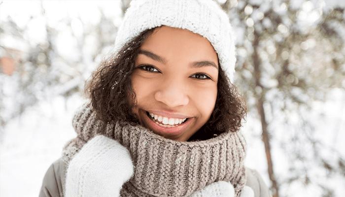 مراقبت از مو در زمستان با پوشاندن مو ها
