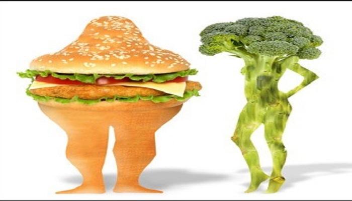 انتخاب رژیم غذایی مناسب و پرهیز از فست فود