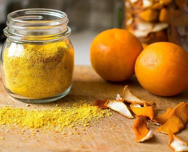 طرز تهیه پودر پوست پرتقال