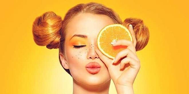 ماسک پرتقال برای زیبایی صورت