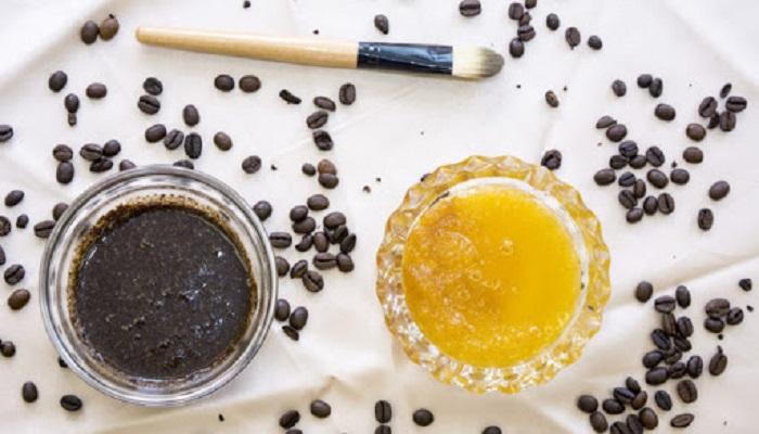 ماسک قهوه و عسل برای پوست