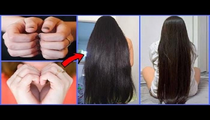 ماساژ ناخن ها برای تقویت رشد مو