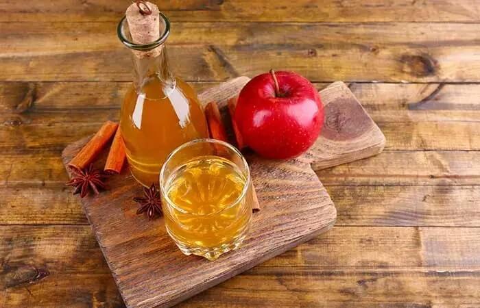درمان پشه زدگی با سرکه سیب