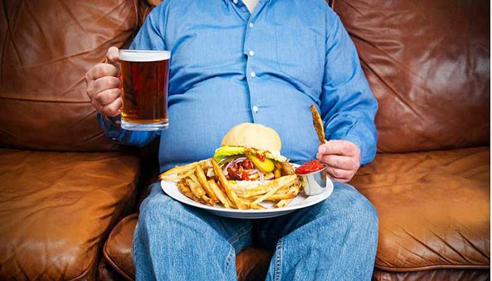افزایش التهاب با رژیم غذایی نامناسب