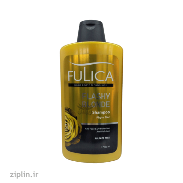 شامپو تثبیت کننده موهای بلوند Flashy Blonde فولیکا (Fulica)