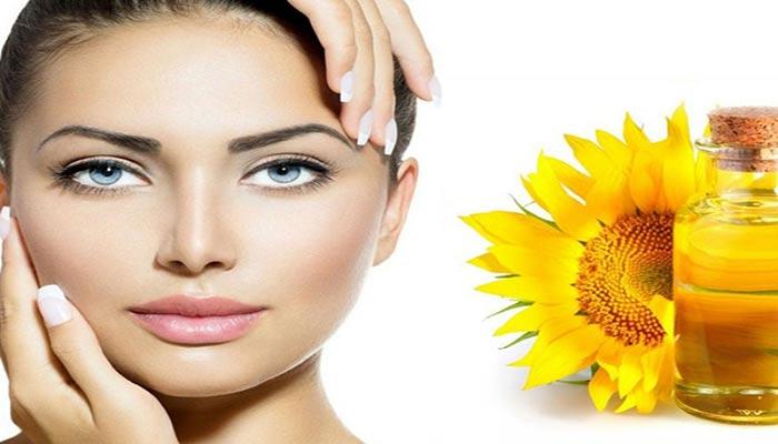 خواص روغن افتابگردان برای پوست و مو