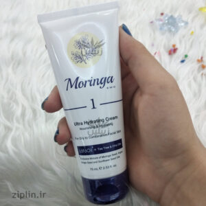 کرم دست و صورت آبرسان 1 پوست چرب و مختلط مورینگا (Moringa)