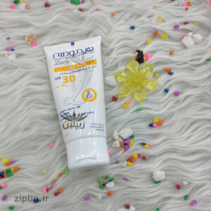 ضد آفتاب فیزیکال SPF30 هیدرودرم لیدی