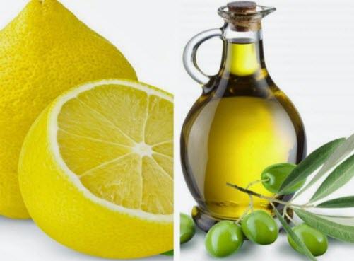 ماسک ناخن با روغن زیتون و لیمو