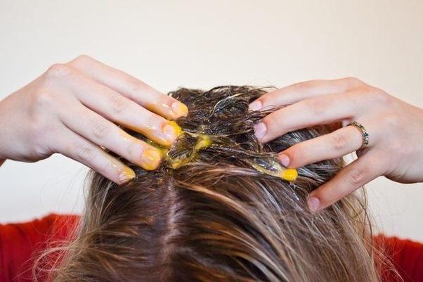استفاده از تخم مرغ روی مو ها